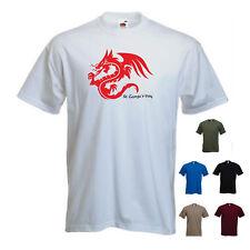 'St Georges Day - Dragon One'2 Saint George England Men Tshirt SALE White Medium