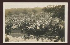 Notts NOTTINGHAM Forest King George V Royal Visit June 24th 1914 RP PPC