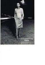 PUBLICITE ADVERTISING   1994     RYKIEL  INSCRIPTION  haute couture