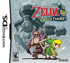 The Legend of Zelda: Spirit Tracks, (DS)
