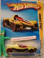 2010 #20 Nm Hot Wheels Formula Street∞Yellow∞ New Models