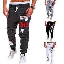 Mens Tracksuit Long Baggy Pants Sports Gym Jogging Casual Bottoms Slacks Trouser