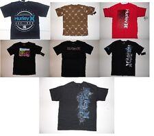 Hurley Boys Logo T-Shirts Black Sizes XS 7, S 8, M 10-12, L 14-16 and XL 18 NWT