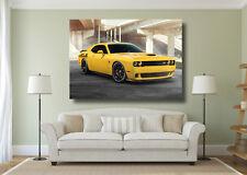 Dodge SRT Hellcat Muscle Voiture Grande Affiche Wall Art Imprimé-A0 A1 A2 A3 Maxi