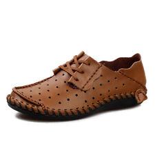Men's Dress Formal Shoes Oxford Leather Breathable Business Shoes Plus Size 7-12
