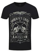 Johnny Cash American Rebel Homme T-Shirt Noir
