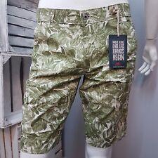 Dockers Men's Bermuda The Original Alpha Shorts Slim Fit 37100-0113 Levis Leaves