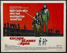 Vintage échapper de la planète des singes mpvie Poster A3 imprimer