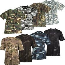 Kinder Tarn T-Shirt XS-XXL 8 Farben US Army camouflage Shirt Kids Tarnshirt NEU