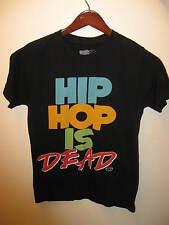 Hip Hop Is Dead Goodie Two Sleeves Urban Dance Club California Black T Shirt Sm