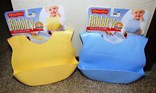 Kiddopotamus Bibbity Rinse and Roll Portable Bib - Pick your color