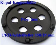 PKD-Schleifteller Schleiftopf mit 6 PKD-Segmenten 150/19 mm  -Neu-  Top !!!!