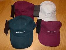 NEW ALPHALETE Hat - Choice - White, Blue, Maroon