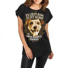 Frauen Damen lässiges Shirt Jack Russell Terrier hunde dogs zucht welpen rasse
