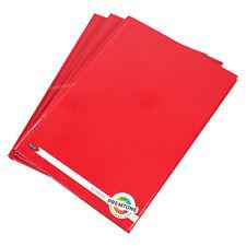 3 Pack Colour A4 Paper Manuscript Books 80 Leaf Notebooks Hardback Lined Pads