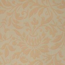 14sr Waterhouse Peach Floral Damask Historic Reproduction Wallpaper