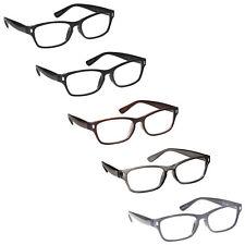 Multi Colour 5 Packs Mens Womens Reading Glasses UV Reader RRRRR77