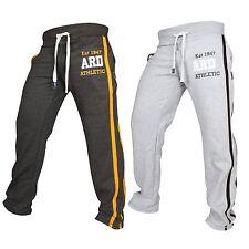 ARD Uomo in Pile Pantaloni sportivi tuta sportiva Inferiore Jogging Esercizi Fitness Clothing