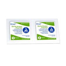 Sterile Alcohol Prep Pads Medium 200 per box #1113