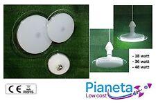 LAMPADA PLAFONIERA LED E27 MODERNA SOFFITTO PARETE bianco freddo e naturale
