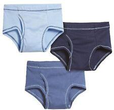 City Threads Boys Super Soft Classic Boxer Briefs Underwear 3-Pack Blue White