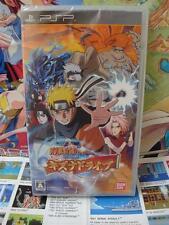 Sony PSP:Naruto Shippuden - Kizuna Drive [TOP MANGA] NEUF & NEW - Jap
