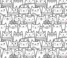 3D Cute cat 1 WallPaper Murals Wall Print Decal Wall Deco AJ WALLPAPER