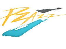 CITROEN Nuevo PZAZZ PUERTA PEGATINA Emblema Para ZX 91-98 Hatchback Estate