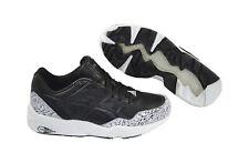 Puma Trinomic R698 Snow Splatter Pack black/white Schuhe/Sneaker 358391 01