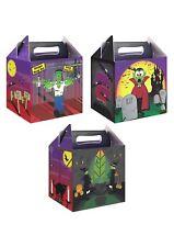 Scatole Pranzo Festa Di Halloween Per Bambini Festa Dolcetti Dolcetto o Scherzetto Borse spettrale