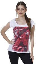 Key Largo T-Shirt Maglietta Maglia Donna EM TURKEY Team Turchia DT00733 bianco