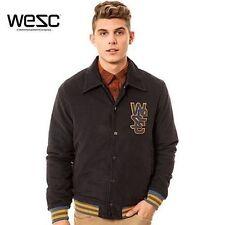 WeSC Varsity Baseball Jacket Gray XXL NEW NWT $105 100€  Skate Surf Streetwear