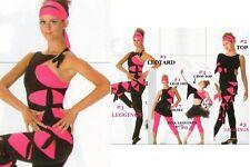 Slash Dance Costume LEOTARD ONLY Hip Hop Jazz Tap Ballet Child 6x7 New
