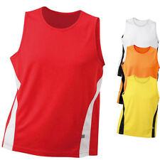 James & Nicholson Herren Running Tank T-Shirt Laufshirt Fitness Shirt S - 3XL