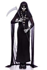 Walking Dead Girl Horror Zombie Gothic Costume cappotto abito Frack MANTELLA CAPPUCCIO