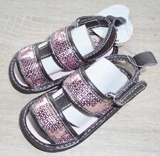 Baby Mädchen SCHUHE 👟 Sandalen 👟 Klettverschluss 👟 weich 👟 Größe 16 + 18