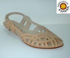 Sandalia tacón piel tallas 37 y 38