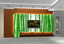 3D bamboo forest 1 WallPaper Murals Wall Print Decal Wall Deco AJ WALLPAPER