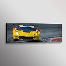 Chevrolet Corvette C7R Z06 Racecar Car Automobile Photo Wall Art Canvas Print