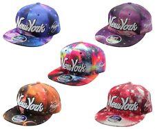 herren damen new york ny galaxy space snapback basecap fashion 6 panel mütze
