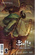 signed Buffy The Vampire Slayer 1 season nine Jo Chen 1st print Dark Horse comic