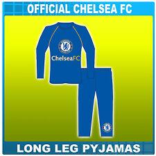 BOYS BNWT OFFICIAL CHELSEA FOOTBALL CLUB PYJAMAS 3 - 10 YEARS 100% COTTON