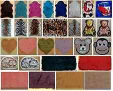 SheepSkin Plain Fluffy Faux Fur Fake Bedroom Rugs Mats Colours Non Slip Washable