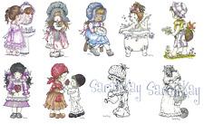 SARAH KAY-Stampavie-Photopolymer Clear Art/Acrylic Stamp-Stamping Craft-RETIRED