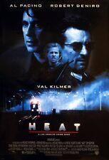 Heat 1995 Retro Movie Poster A0-A1-A2-A3-A4-A5-A6-MAXI 669