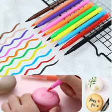 Edible Biscuits Fondant Draw Tool Drawing Cake Brush Pigment Pen Food Coloring
