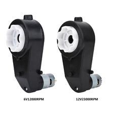 6/12V 12000/23000RPM Motore Elettrico Scatola Ingranaggi Guidare Auto Ricambio