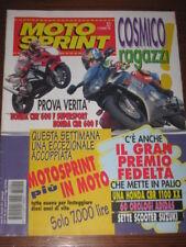 MOTOSPRINT 1996/51 CADALORA DOOHAN CORSER STEFAN EVERTS