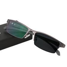 Men Photochromic Reading Glasses Color Change Lens Eye Reader Fashion Sunglasses
