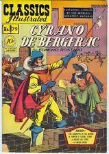 Classic Illustrated #79 Cyrano De Bergerac – 1st print